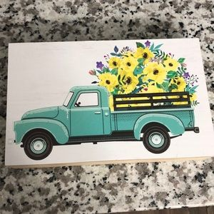 Other - Country truck wall art